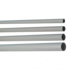Труба жесткая ПВХ 3-х метровая легкая D=25, серая (63925)